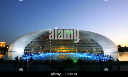 national centre for the performing arts,beijing,china - Stock Photo