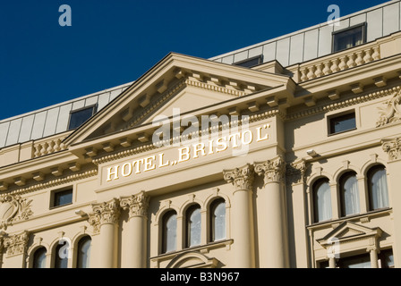 Hotel Bristol Warsaw - Stock Photo