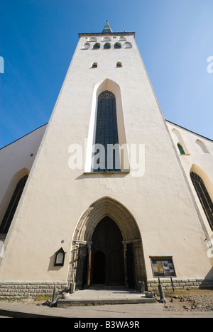 St Olaf's Church, Tallinn, Estonia. - Stock Photo