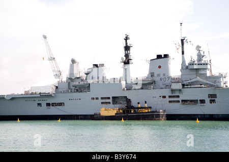 HMS Ark Royal R07 - Stock Photo