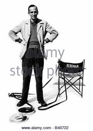 Bergman, Ingmar, 14.7.1918 - 30.7.2007, Swedish director, full length, circa 1963, Additional-Rights-Clearances - Stock Photo