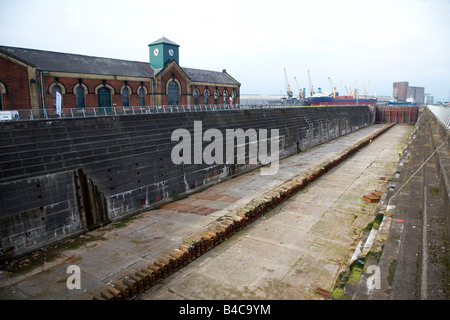 Thompsons dock and pump house belfast city centre northern ireland uk - Stock Photo