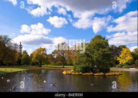 Regents Park London United Kingdom - Stock Photo
