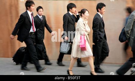 Asakusa in the district in Taitō, Tokyo, Japan - Stock Photo