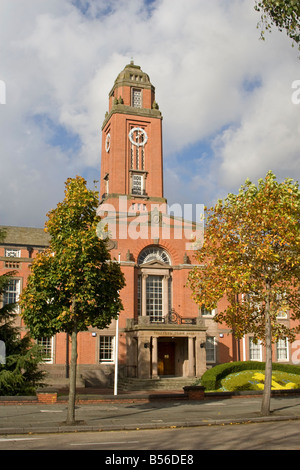 Town Hall, Trafford, Manchester, UK. - Stock Photo