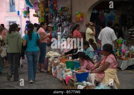 Artisans Market, San Miguel de Allende (San Miguel), Guanajuato State, Mexico, North America - Stock Photo