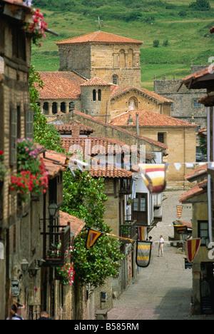 Santillana del Mar, Cantabria, Spain, Europe - Stock Photo
