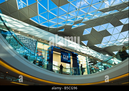 GAP outlet in Westfield Shopping Centre White City Development W12 London United Kingdom - Stock Photo