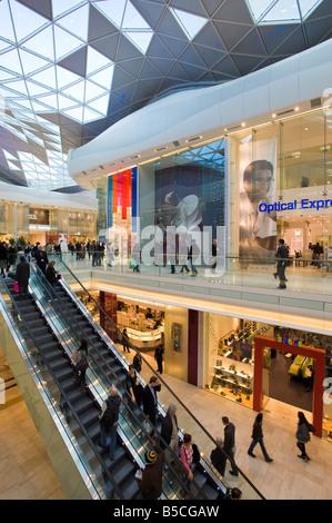 Westfield Shopping Centre White City Development W12 London United Kingdom - Stock Photo