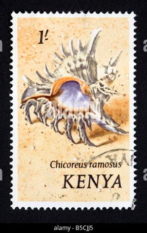 Kenyan postage stamp - Stock Photo