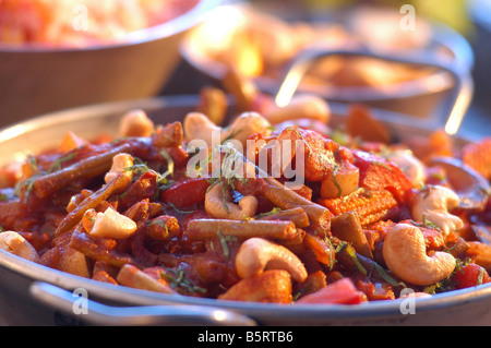 vegetable balti - Stock Photo