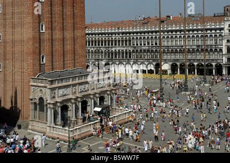 Italy St. Mark's Square, Venice - Stock Photo