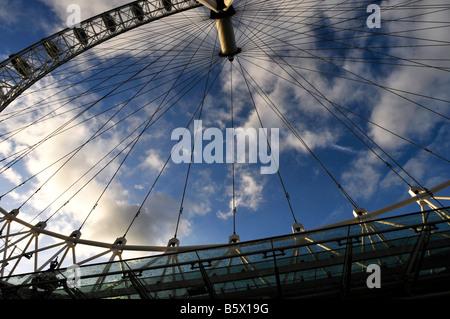 The London Eye, United Kingdom, UK. Picture by Patrick steel patricksteel - Stock Photo