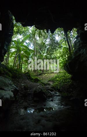 Cave in the Sierra de San Luis, Venezuela, South America - Stock Photo