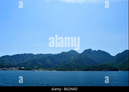 Itsukushima or Miyajima, Hiroshima Prefecture, Japan - Stock Photo