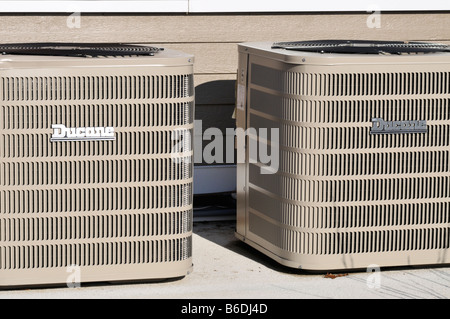 AC Cooling Units - Stock Photo