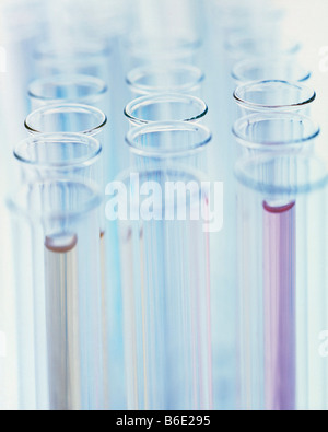Test tubes. Group of laboratory test tubes. - Stock Photo
