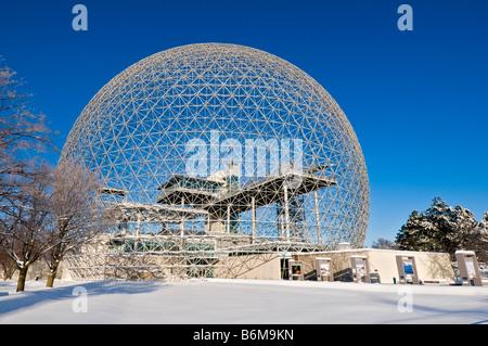 Biosphere Ile Sainte Helene Montreal Quebec Canada - Stock Photo