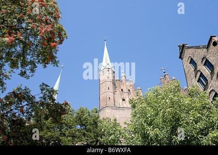 St marys basilica gdansk - Stock Photo