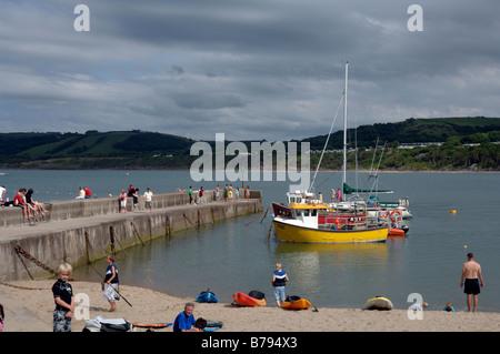 Newquay, Ceredigion, Wales, UK, Europe - Stock Photo