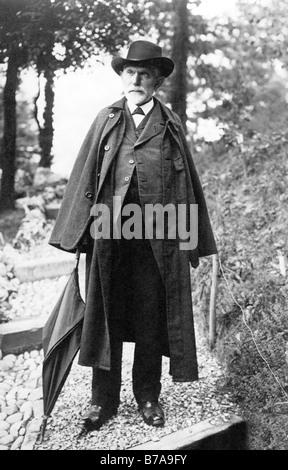 Historic photo, August Bebel, co-founder of the German social democratic party, social democrat - Stock Photo
