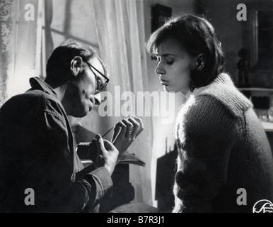 Sasom I En Spegel Year: 1961 Director: Ingmar Bergman Harriet Andersson, Max von Sydow - Stock Photo