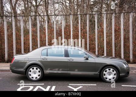 Bentley Continental Flying Spur - Stock Photo