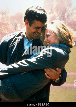 One Fine Day  Year: 1996 USA George Clooney, Michelle Pfeiffer  Director: Michael Hoffman - Stock Photo
