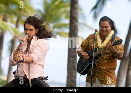 Forgetting Sarah Marshall  Year : 2008 USA Russell Brand,  Director: Nick Stoller - Stock Photo