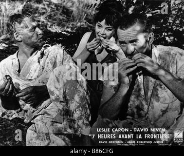 Guns of Darkness  Année : 1962 UK Leslie Caron, David Niven  Director : Anthony Asquith - Stock Photo