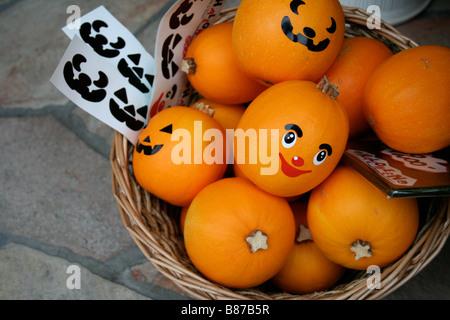 Halloween squashes - Stock Photo