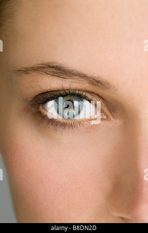 Close up of female eye - Stock Photo