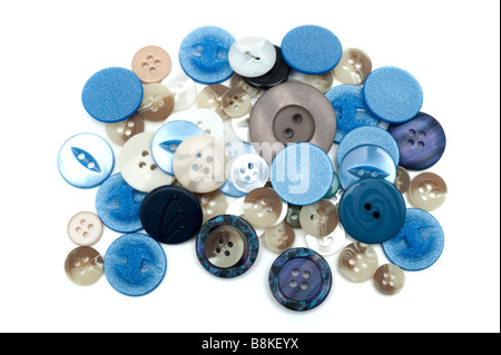 Pile of mixed buttons - Stock Photo
