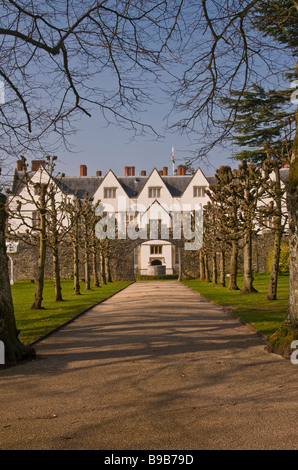 St Fagans Castle in the Museum of Welsh Life near Cardiff Wales - Stock Photo
