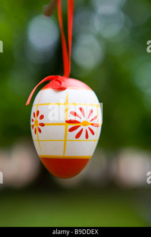 Painted egg Bulgaria Sofia - Stock Photo