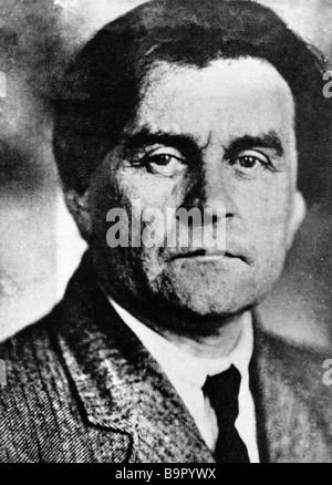 Artist Kazimir Malevich 1878 1935 - Stock Photo