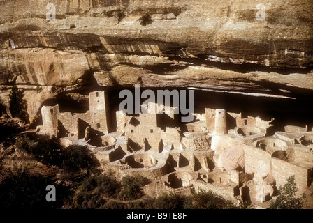 Mesa Verde Cliff Palace - Stock Photo