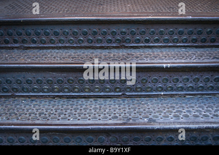 Old SOHO stairs. - Stock Photo