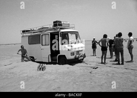 raid in the desert - Stock Photo