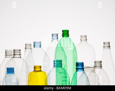 Empty plastic bottles - Stock Photo