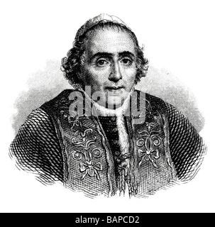 Pope Pius VII - Stock Photo