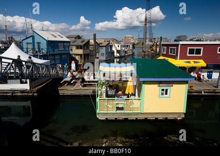 Fisherman's Wharf in Victoria, British Columbia, Canada. - Stock Photo