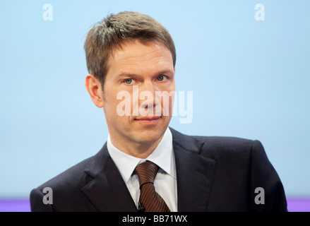 Rene OBERMANN CEO of Deutsche Telekom AG - Stock Photo