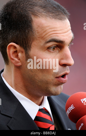Coach, manager Markus Babbel, VfB Stuttgart - Stock Photo