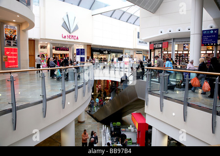 The Oracle shopping centre in Reading - Stock Photo