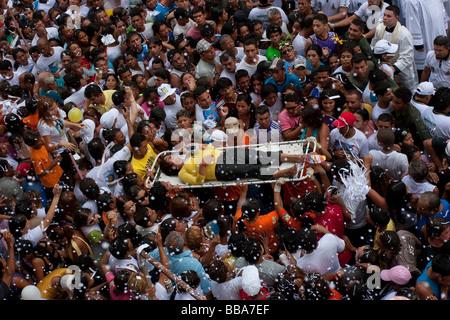 Cirio de Nazare religious festival City Belem State Para Brazil - Stock Photo