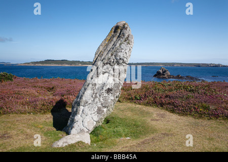 The Old Man of Gugh - Stock Photo