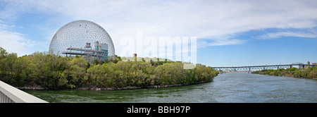 Biosphere, Environment Museum, Montreal, Quebec, Canada - Stock Photo
