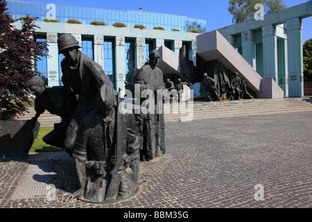 Poland Warsaw Uprising Monument - Stock Photo