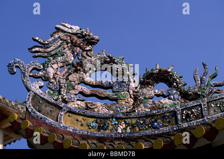 vietnam, nha trang, long son pagoda - Stock Photo